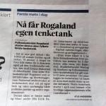 Respons på oppslag i Stavanger Aftenblad